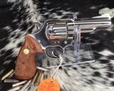 1982 Colt Trooper MKIII, Nickel, 4 inch, Boxed - 2 of 21