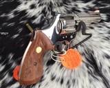 1982 Colt Trooper MKIII, Nickel, 4 inch, Boxed - 8 of 21
