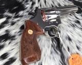 1982 Colt Trooper MKIII, Nickel, 4 inch, Boxed - 10 of 21