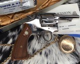 Smith and Wesson's 10-5 Nickel, Four inch, Boxed, Pristine - 5 of 20