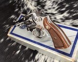 Smith and Wesson's 10-5 Nickel, Four inch, Boxed, Pristine - 4 of 20