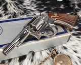 Smith and Wesson's 10-5 Nickel, Four inch, Boxed, Pristine - 2 of 20