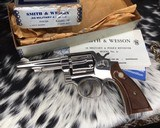 Smith and Wesson's 10-5 Nickel, Four inch, Boxed, Pristine - 9 of 20