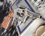 Smith and Wesson's 10-5 Nickel, Four inch, Boxed, Pristine
