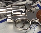 Smith and Wesson's 10-5 Nickel, Four inch, Boxed, Pristine - 16 of 20