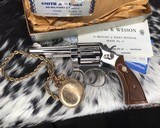 Smith and Wesson's 10-5 Nickel, Four inch, Boxed, Pristine - 6 of 20