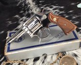 Smith and Wesson's 10-5 Nickel, Four inch, Boxed, Pristine - 12 of 20