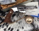 Smith and Wesson's 10-5 Nickel, Four inch, Boxed, Pristine - 10 of 20