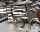 Smith and Wesson's 10-5 Nickel, Four inch, Boxed, Pristine - 7 of 20
