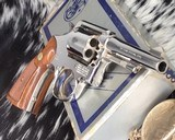 Smith and Wesson's 10-5 Nickel, Four inch, Boxed, Pristine - 15 of 20