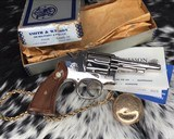 Smith and Wesson's 10-5 Nickel, Four inch, Boxed, Pristine - 11 of 20