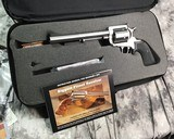 NOS Magnum Research BFR, .50 AE, Cased W/Shipper, Unfired - 7 of 14