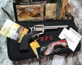 NOS Magnum Research BFR, .50 AE, Cased W/Shipper, Unfired - 8 of 14