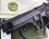 Beretta M9 Special Edition NIB, 9mm, US Marked - 10 of 11