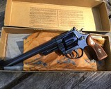 Smith and Wesson Pre-27, 8 3/8 inch, 98% High Condition W/Box - 17 of 19