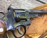 Smith and Wesson Pre-27, 8 3/8 inch, 98% High Condition W/Box - 13 of 19