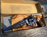Smith and Wesson Pre-27, 8 3/8 inch, 98% High Condition W/Box - 1 of 19