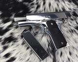 Colt MKIV Officers ACP ,Lew Horton Bright Stainless, .45 Acp, - 15 of 20