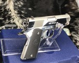 Colt MKIV Officers ACP ,Lew Horton Bright Stainless, .45 Acp, - 4 of 20