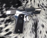 Colt MKIV Officers ACP ,Lew Horton Bright Stainless, .45 Acp, - 8 of 20