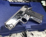 Colt MKIV Officers ACP ,Lew Horton Bright Stainless, .45 Acp, - 18 of 20