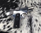 Colt MKIV Officers ACP ,Lew Horton Bright Stainless, .45 Acp, - 11 of 20