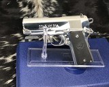 Colt MKIV Officers ACP ,Lew Horton Bright Stainless, .45 Acp, - 2 of 20