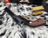 First Issue1969 Ruger BearCat, .22LR With Box - 7 of 14