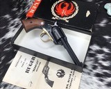 First Issue1969 Ruger BearCat, .22LR With Box - 5 of 14