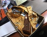 Smith and Wesson K38 Combat Masterpiece, model 15, Boxed Nickel 2 inch. 99% - 17 of 17