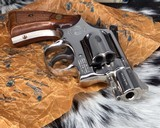 Smith and Wesson K38 Combat Masterpiece, model 15, Boxed Nickel 2 inch. 99% - 2 of 17