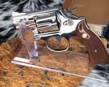 Smith and Wesson K38 Combat Masterpiece, model 15, Boxed Nickel 2 inch. 99% - 12 of 17