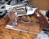 Smith and Wesson K38 Combat Masterpiece, model 15, Boxed Nickel 2 inch. 99% - 7 of 17