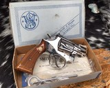 Smith and Wesson K38 Combat Masterpiece, model 15, Boxed Nickel 2 inch. 99% - 8 of 17