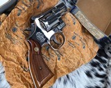 Smith and Wesson K38 Combat Masterpiece, model 15, Boxed Nickel 2 inch. 99% - 10 of 17