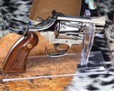 Smith and Wesson K38 Combat Masterpiece, model 15, Boxed Nickel 2 inch. 99% - 3 of 17