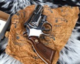Smith and Wesson K38 Combat Masterpiece, model 15, Boxed Nickel 2 inch. 99% - 15 of 17