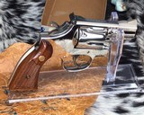 Smith and Wesson K38 Combat Masterpiece, model 15, Boxed Nickel 2 inch. 99% - 5 of 17