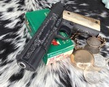 """Colt Government Model, .38 Super, Master Engraved by """"The Featherman"""" NIB - 3 of 25"""