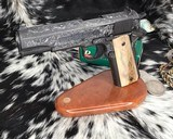 """Colt Government Model, .38 Super, Master Engraved by """"The Featherman"""" NIB - 1 of 25"""