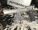 AMT AutoMag II, .22Magnum Pistol, boxed