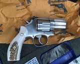 Smith and Wesson 686-1 , 2.5 Inch L-Frame .357 Mag, W/Stags - 9 of 14