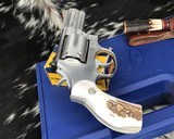 Smith and Wesson 686-1 , 2.5 Inch L-Frame .357 Mag, W/Stags - 4 of 14
