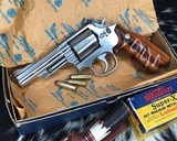 Smith and Wesson 66-2 Combat Magnum, 4 inch - 1 of 16