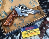 Smith and Wesson 66-2 Combat Magnum, 4 inch - 15 of 16