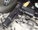 WWII German Inspected ,Slotted FN High Power, 9mm, Numbers match. - 15 of 16