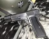 WWII German Inspected ,Slotted FN High Power, 9mm, Numbers match. - 11 of 16