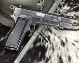 WWII German Inspected ,Slotted FN High Power, 9mm, Numbers match. - 16 of 16