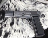 WWII German Inspected ,Slotted FN High Power, 9mm, Numbers match. - 9 of 16