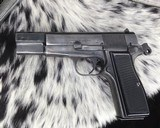 WWII German Inspected ,Slotted FN High Power, 9mm, Numbers match. - 14 of 16